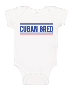 Cuban Bred Cuban Bread Latino Tee Spanish Graphic Tee babies