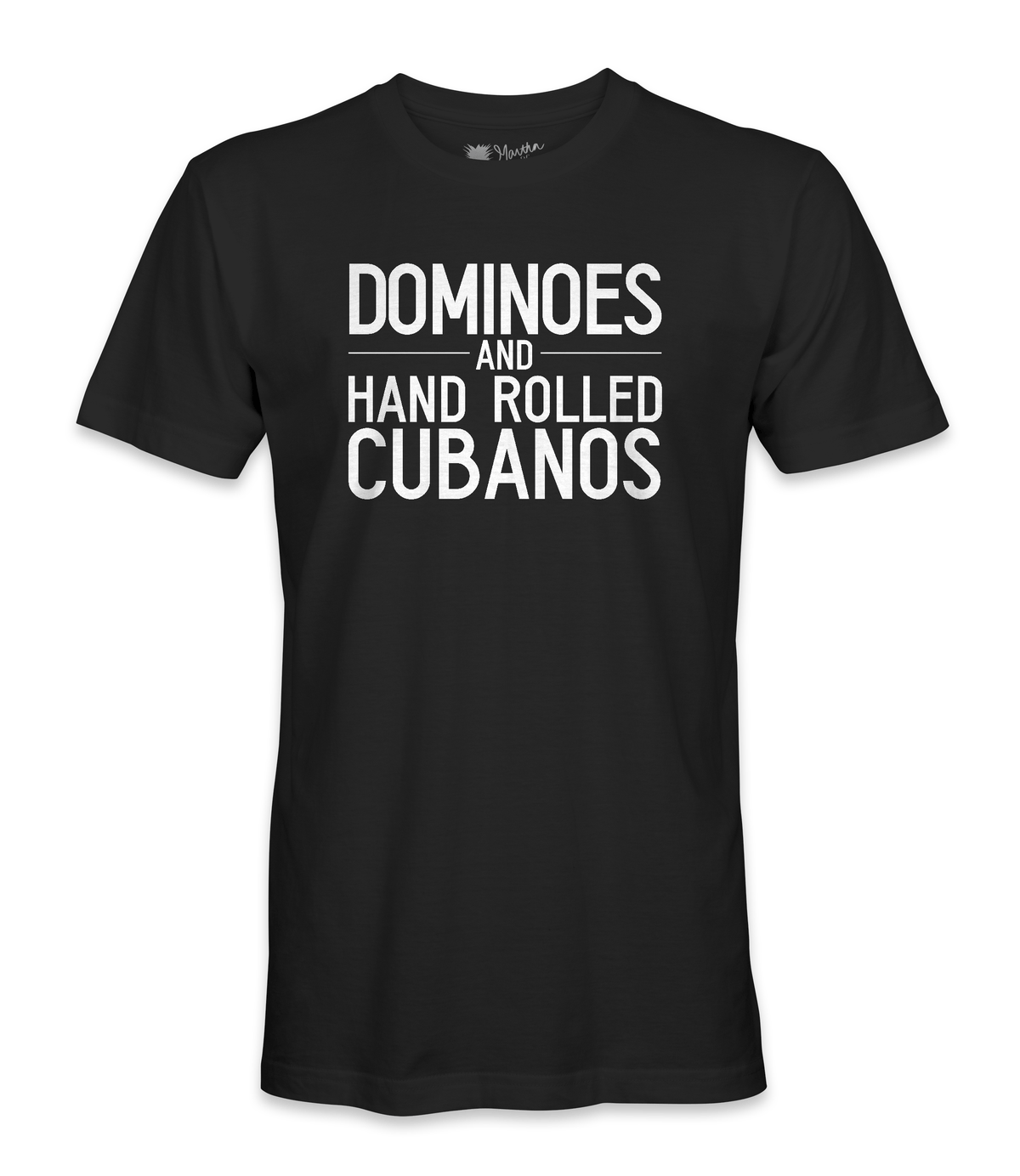 Dominoes and Hand Rolled Cubanos Tee - Men