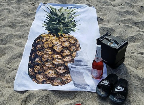 Piña Colada Beach Towel