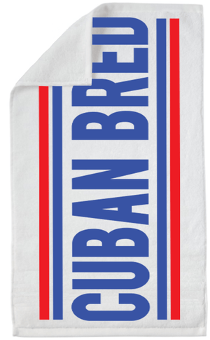 Cuban Bred™ Beach Towel