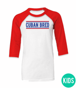 Cuban Bred Baseball Tee - Kids
