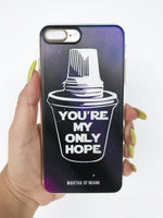 Colada, You're My Only Hope Phone Case
