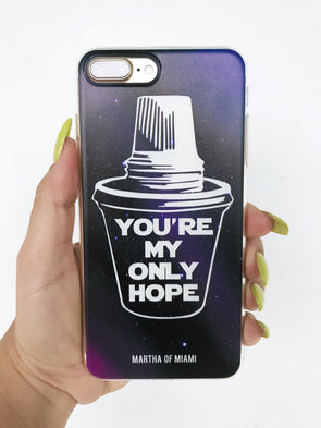You're My Only Hope iPhone Case