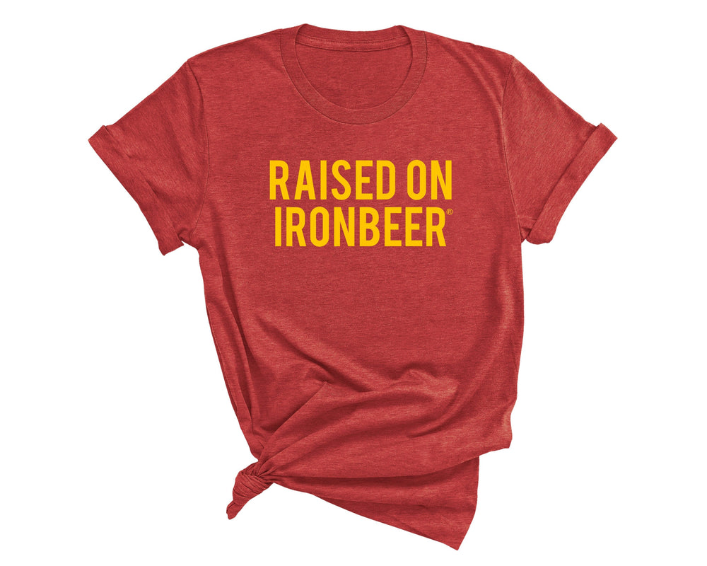 Raised on Ironbeer® Tee - Unisex