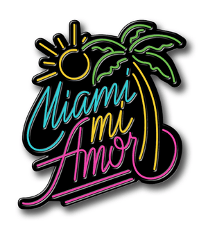Load image into Gallery viewer, Miami Mi Amor Pin