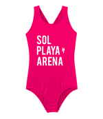 Sol, Playa, y Arena Swimsuit - Girls