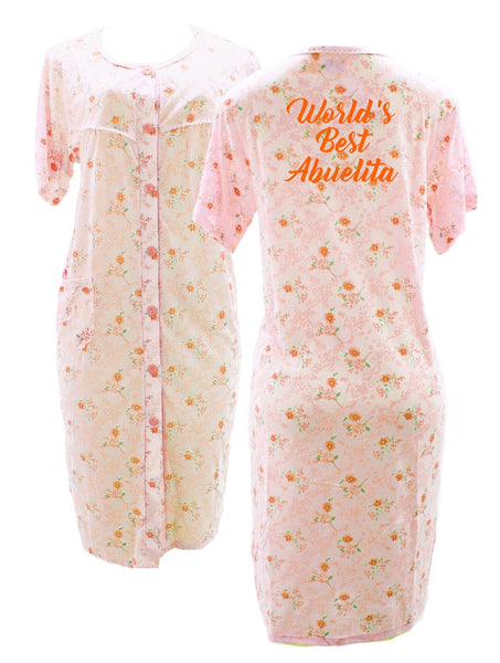 World 39 s best abuelita bata de casa martha of miami - Batas de casa tallas grandes ...