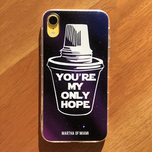 Colada, You're My Only Hope iPhone Case - New