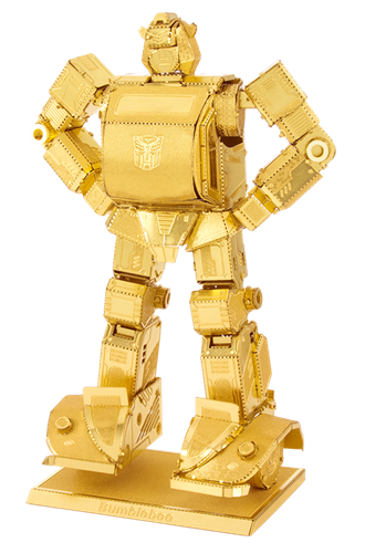 METAL EARTH Gold Bumblebee MMS301G