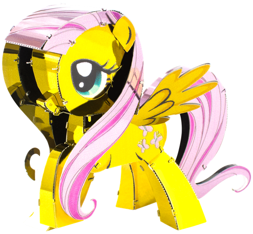 METAL EARTH Fluttershy MMS332