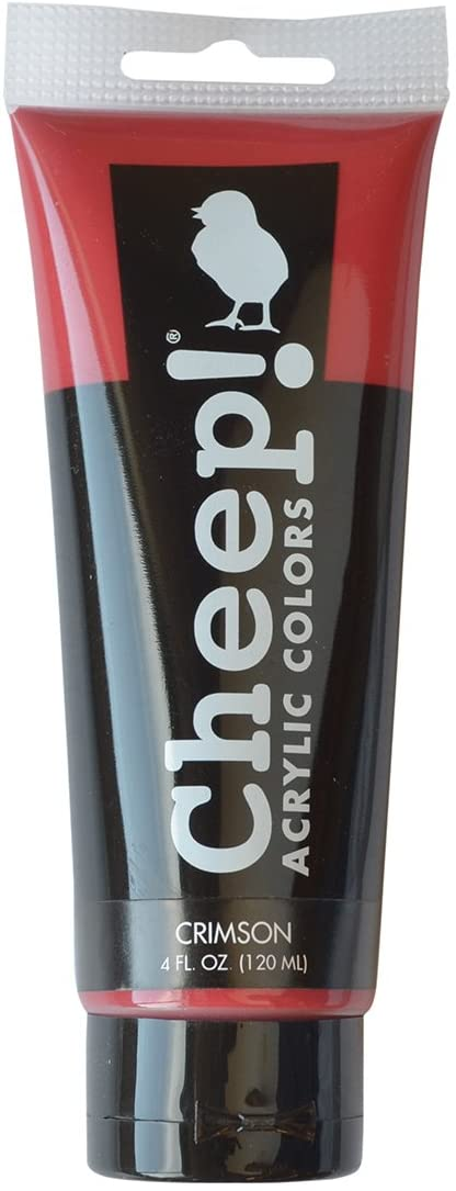 C2f Crimson Acrylic Paint 4oz CHP10060
