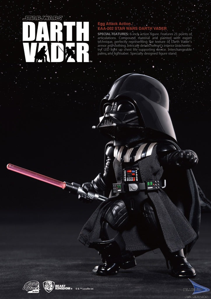"Beast Kingdom EAA-002 Darth Vader ""Star Wars Episode V"" Egg Attack Action BKT10069"