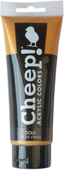 C2f Gold Acrylic Paint 4oz CHP10070