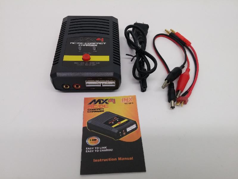 Imex MX4 AC/DC Compact 50W/5 Amp Charger IMX10519