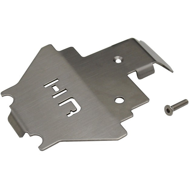 Hot Racing Stainless Armor Skid Plate Center TRX 4 HRASTRXF332C