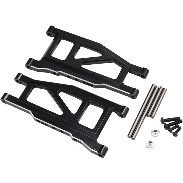 Hot Racing Aluminum Lower Arms Rustler 4x4 HRARUF5501