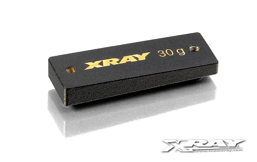 Xray Precision Balancing Chassis Weights Center 30g XRA309854