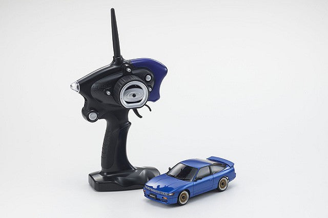 Kyosho MINI-Z MA-020S NISSAN SILEIGHTY with LED Blue Ready Set KYO32136BL-B