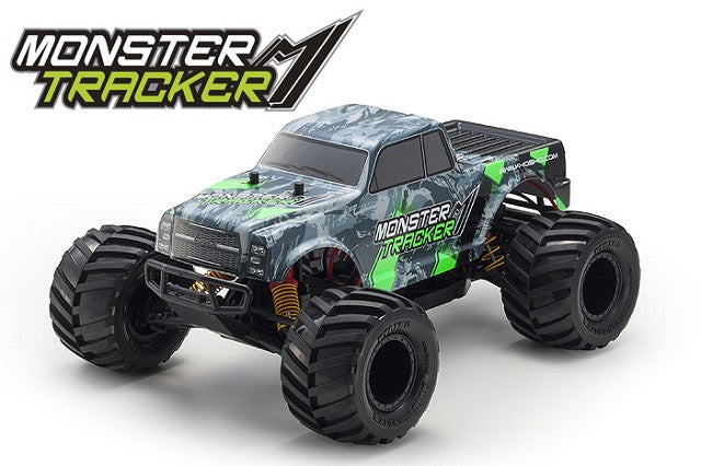 Kyosho Monster Tracker Green EP 2WD MT Ready Set KYO34403T1B