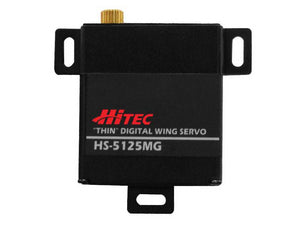 Hitec HS-5125MG Wing Servo Metal Gear Ball Bearing Digital Servo .13sec/49oz @ 6.0v HRC35125S