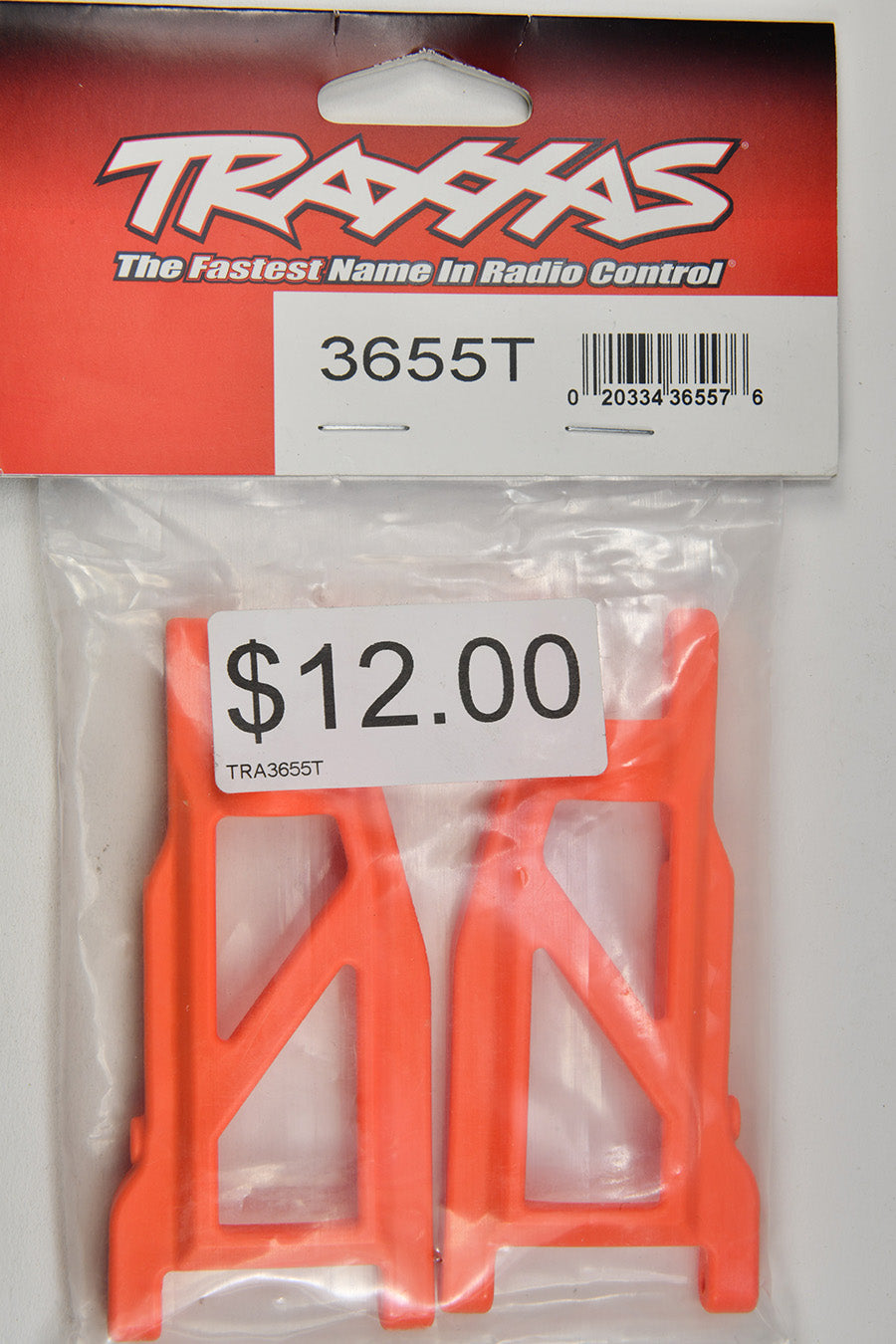 Traxxas Suspension Arms, Orange, Front/Rear (Left & Right) (2) (Heavy Duty, Cold Weather Material) TRA3655T
