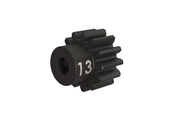 Traxxas Gear, 13-T Pinion (32-p), Heavy Duty (Machined, Hardened Steel)/ Set Screw TRA3943X