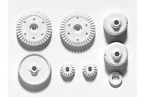 Tamiya G Parts for TT-01, Gear Bag w/ Spur and Differential Gears TAM51004