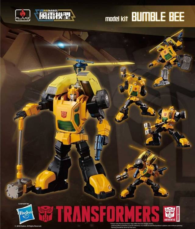 Flame Toys Furai Model Transformers Bumble Bee Model Kit FLM51230