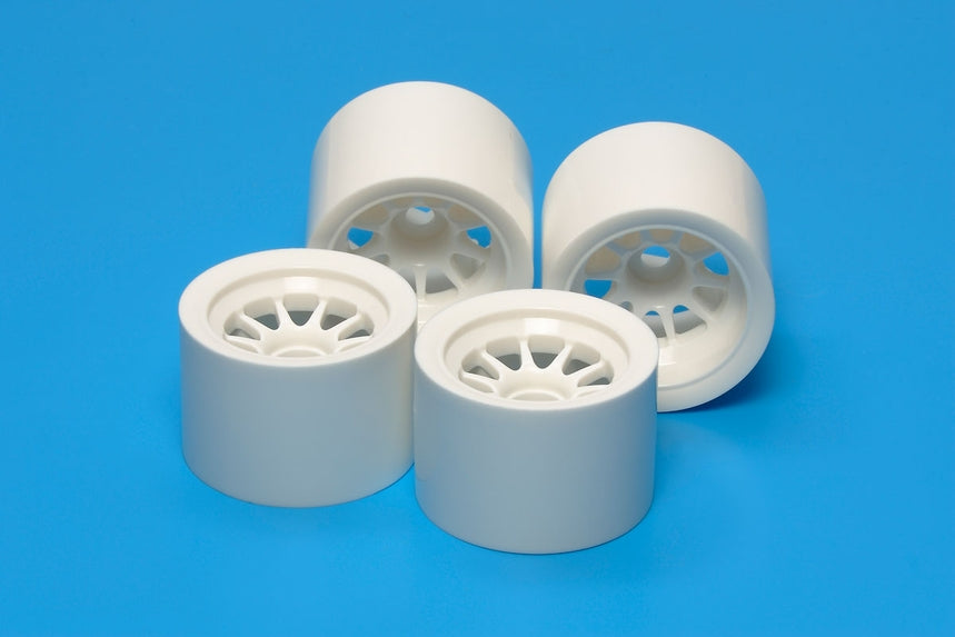Tamiya F104 Wheel Set White TAM54526