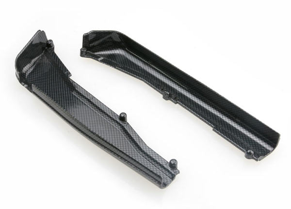 Traxxas Dirt Guards Left & Right, Exo-Carbon Finish (Jato) TRA5527G