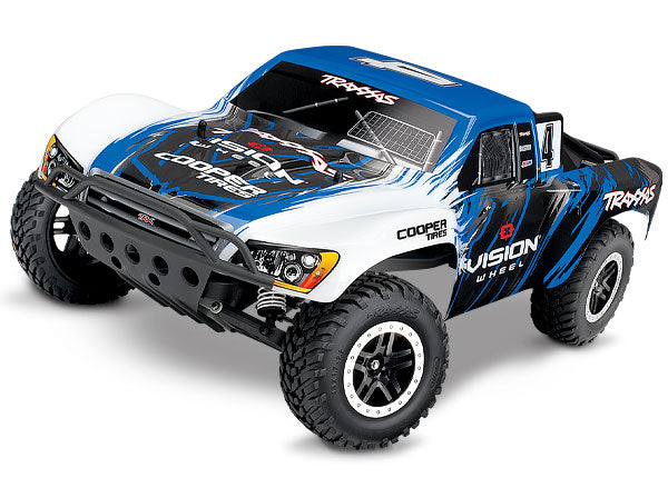 Traxxas Slash: 1/10-Scale 2WD Short Course Racing Truck with TQ 2.4GHz Radio System TRA58034-1-VISN