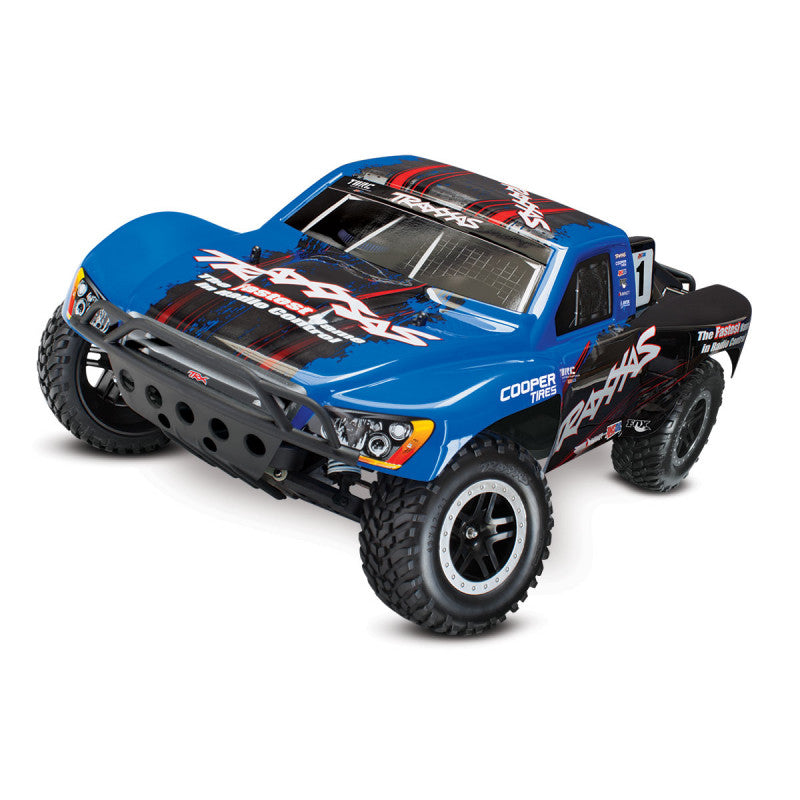 Traxxas Slash VXL: 1/10 Scale 2WD Short Course Racing Truck with TQi Traxxas Link Enabled 2.4GHz Radio System & Traxxas Stability Management (TSM) TRA58076-4-R6B80
