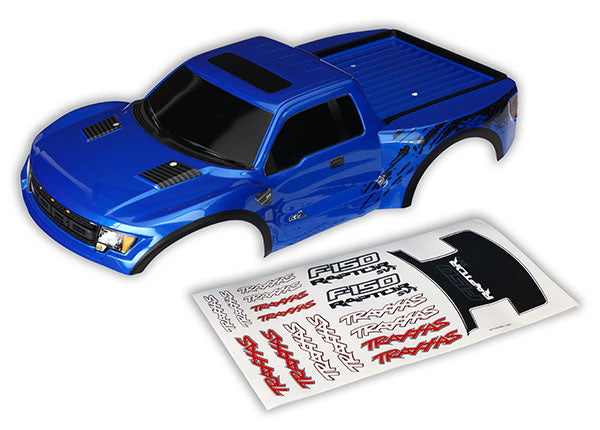 Traxxas Body Ford Raptor Blue (Painted) TRA5815A