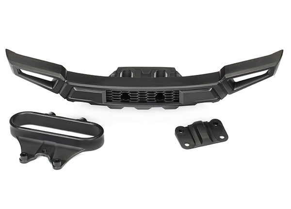 Traxxas Bumper Front/ Bumper Mount, Front/ Adapter (Fits 2017 Ford Raptor) TRA5834