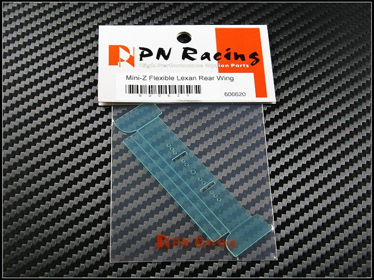 Pn Racing Mini-Z Flexible Lexan Rear Wing PNR600620