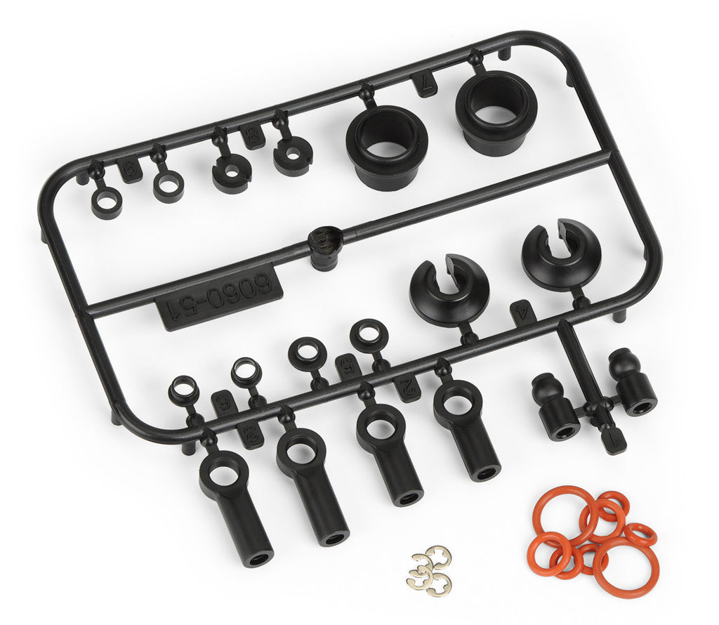Pro-Line PowerStroke Scale Shock Plastic and Rebuild Kit