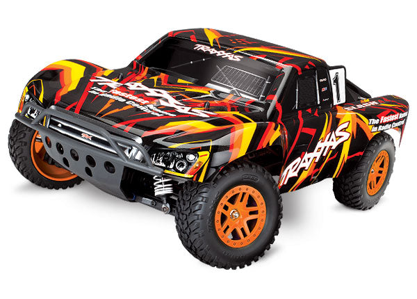 Traxxas Slash 4X4: 1/10 Scale 4WD Electric Short Course Truck with TQ 2.4GHz Radio System TRA68054-1-ORNG