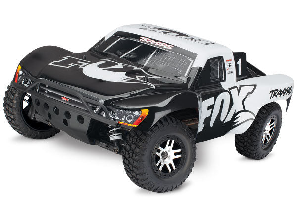 Traxxas Slash 4X4: 1/10 Scale 4WD Electric Short Course Truck with TQi Traxxas Link Enabled 2.4GHz Radio System & Traxxas Stability Management (TSM) TRA68086-4-FOX