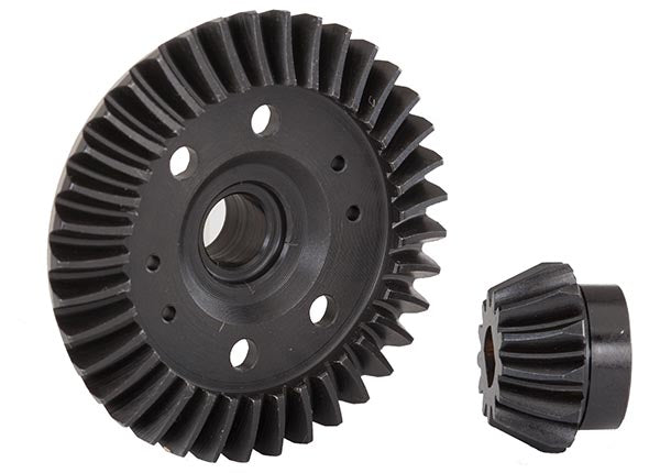 Traxxas Ring Gear Differential Pinion Gear Differential (Machined Spiral Cut) (Rear) TRA6879R