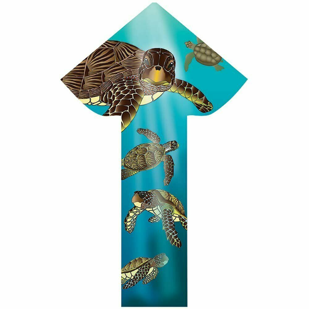 "WindNSun Breezyfliers 42"" Kite Sea Turtles WNS70524"