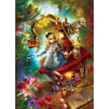 Masterpieces Puzzle Book Box - Lost in Wonderland - Alice in Wonderland 1000 Piece Jigsaw Puzzle MST71552