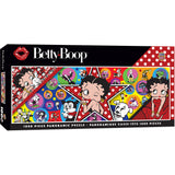 Masterpieces Puzzle Betty Boop Panoramic 1000 Piece Jigsaw Puzzle MST71839