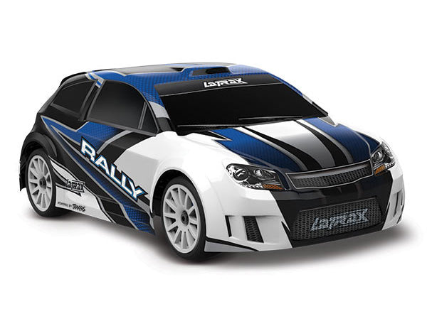 Traxxas LaTrax® Rally: 1/18 Scale 4WD Electric Rally Racer. Ready-To-Race® and Powered by Traxxas® with ESC (Fwd/Rev) and Brushed Motor. Includes: 5-Cell NiMH 1200mAh LaTrax Battery w AC Charger TRA75054-5-BLUE
