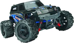 Traxxas LaTrax Teton: 1/18 Scale 4WD Electric Monster Truck TRA76054-5-BLUE