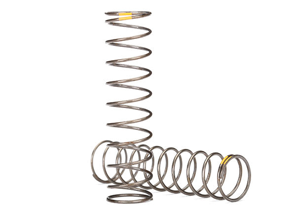 Traxxas Springs, Shock (Natural Finish) (GTS) (0.22 Rate, Yellow Stripe) (2) TRA8042