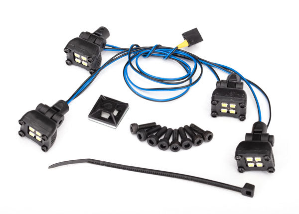Traxxas LED Expedition Rack Scene Light Kit (Fits #8111 Body, Requires #8028 Power Supply) TRA8086