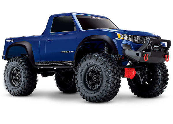 Traxxas TRX-4 Sport: 4WD Electric Truck with TQ 2.4GHz Radio System TRA82024-4-BLUE