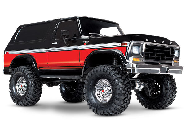 Traxxas Ford Bronco 4WD Electric Truck TQi 2.4GHz Radio System TRA82046-4-RED