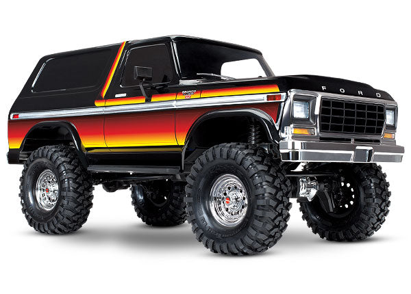 Traxxas Ford Bronco 4WD Electric Truck TQi 2.4GHz Radio System TRA82046-4-SUN