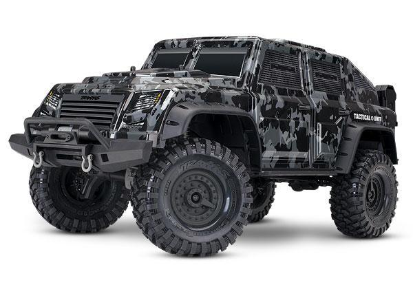 Traxxas TRX-4 Tactical Unit: 4WD Electric Truck with TQi Traxxas Link Enabled 2.4GHz Radio System TRA82066-4
